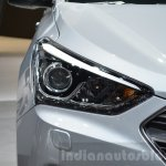 2016 Hyundai Santa Fe (facelift) headlamp at 2016 Geneva Motor Show