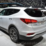 2016 Hyundai Santa Fe (facelift) rear quarter at 2016 Geneva Motor Show