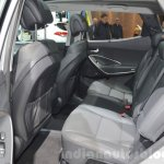 2016 Hyundai Santa Fe (facelift) rear seats at 2016 Geneva Motor Show