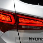 2016 Hyundai Santa Fe (facelift) tail lamp at 2016 Geneva Motor Show