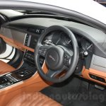 2016 Jaguar XF interior at the Auto Expo 2016