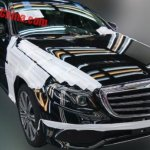 2016 Mercedes E Class LWB front quarter spotted undisguised