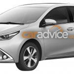 2016 Toyota Corolla U.S-spec facelift front leaked via patent images