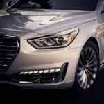 2017 Genesis G90 front fascia