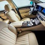 2017 Genesis G90 front seats