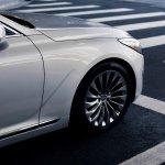 2017 Genesis G90 on road
