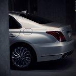 2017 Genesis G90 rear quarter panel