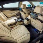 2017 Genesis G90 rear seats