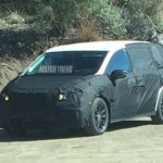 2017 Honda Odyssey front three quarter spotted testing