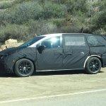 2017 Honda Odyssey side spotted testing