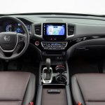 2017 Honda Ridgeline black interior dashboard