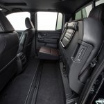 2017 Honda Ridgeline black rear seats folded