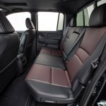 2017 Honda Ridgeline black rear seats