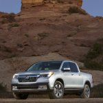 2017 Honda Ridgeline front three quarters left side