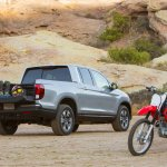 2017 Honda Ridgeline off-road
