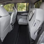 2017 Honda Ridgeline rear seat folding
