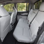2017 Honda Ridgeline rear seats