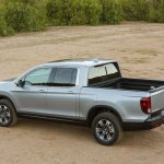 2017 Honda Ridgeline rear three quarters left side