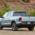 2017 Honda Ridgeline rear three quarters