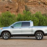 2017 Honda Ridgeline side profile