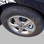 2016 Hyundai Verna alloy wheel spied