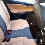 2016 Hyundai Verna rear AC vents spied