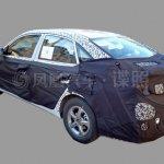 2016 Hyundai Verna rear quarter spied
