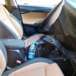 2016 Hyundai Verna seats spied