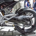 BMW G310R aluminium swingarm at Auto Expo 2016