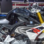 BMW G310R black at Auto Expo 2016