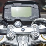 BMW G310R digital instrument console at Auto Expo 2016