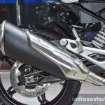 BMW G310R exhaust at Auto Expo 2016