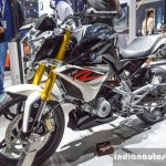 BMW G310R front quarter at Auto Expo 2016