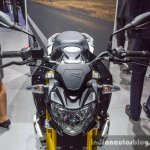 BMW G310R handlebar at Auto Expo 2016