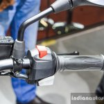 BMW G310R handlebar switchgear right at Auto Expo 2016