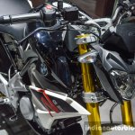 BMW G310R inverted fork at Auto Expo 2016