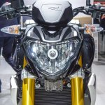 BMW G310R radiator at Auto Expo 2016