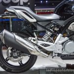BMW G310R rear half at Auto Expo 2016