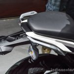 BMW G310R rear seat at Auto Expo 2016