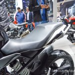 BMW G310R seat at Auto Expo 2016