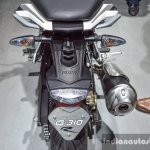 BMW G310R tail lamp at Auto Expo 2016