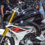 BMW G310R tank shrouds at Auto Expo 2016