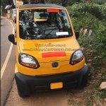 Bajaj Qute front snapped testing in Trivandrum