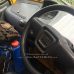 Bajaj Qute interior snapped testing in Trivandrum