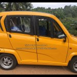 Bajaj Qute side snapped testing in Trivandrum