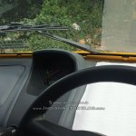Bajaj Qute speedometer snapped testing in Trivandrum
