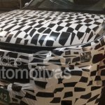 Chevrolet Trailblazer facelift front spotted up close