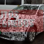 Fiat Tipo estate front three quarter spotted for the first time