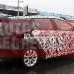 Fiat Tipo estate side spotted for the first time