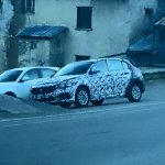 Fiat Tipo hatchback front three quarter spotted up close